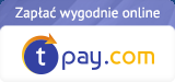 Zapłać szybko i wygodnie przez tpay.com