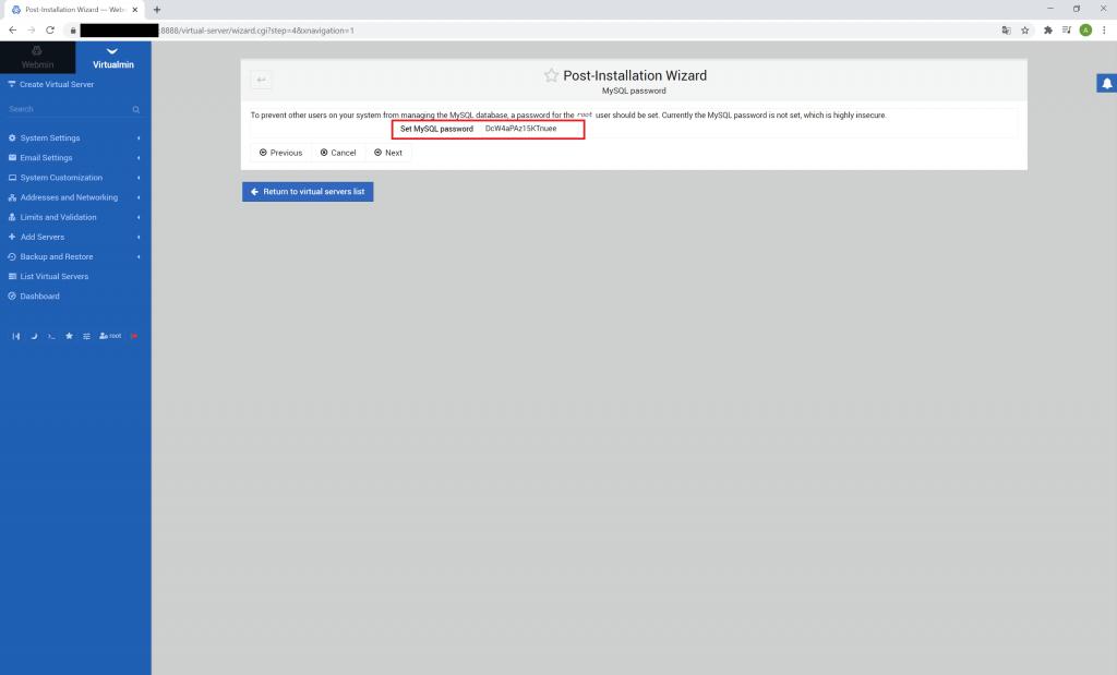 webmin virtualmin instalacja krok 6
